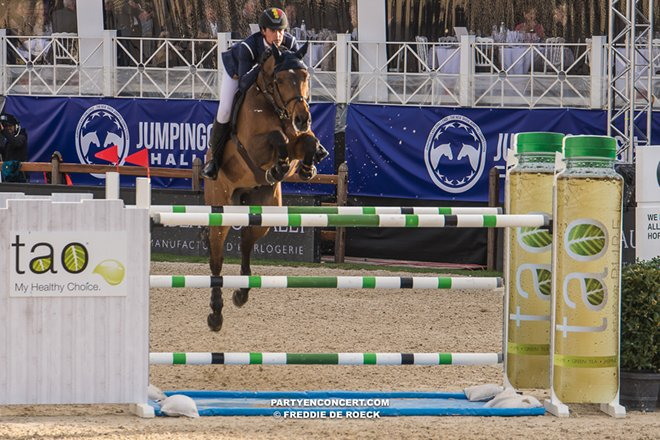 m Jumping Antwerpen 22 april 2017    Freddie de Roeck   -7016