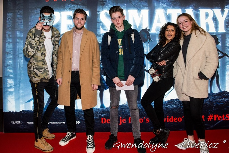 Premiere Pet Sematary in Pathe Arena