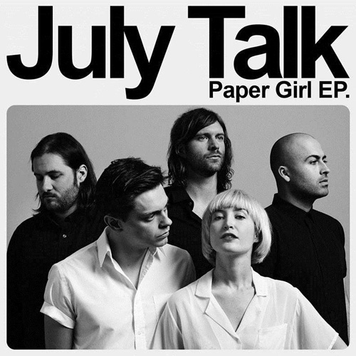 July Talk PAPER GIRL EP art3