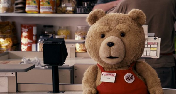 Ted - Movie 2012-Cashier