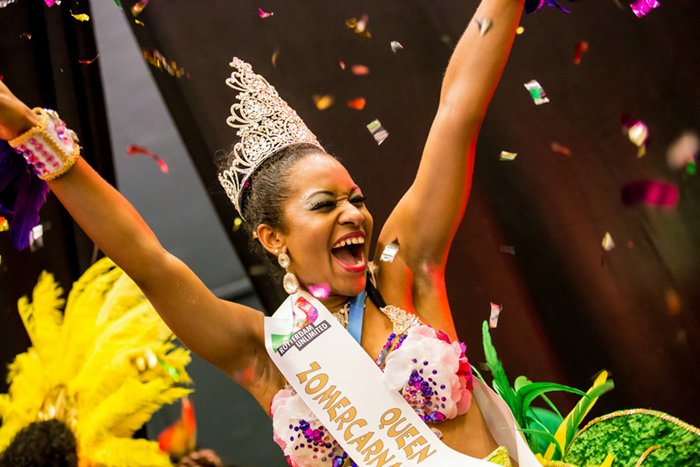 And the Queen Zomercarnaval 2017 is...Geneitha Russell uit Amsterdam